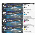 HP 972A PageWide Ink Cartridge (Black, Cyan, Magenta, Yellow), EXP 2020 & 2021