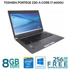 Toshiba Portege Z30-A Core i7-4600U 8/16GB 256GB SSD Win10P Webcam WiFi HDMI