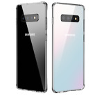 For Samsung Galaxy S10/Plus/S10e Transparent Clear Thin Soft Phone Case Cover