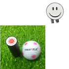 Golf Ball Marker with Magnetic Hat Cap Visor Clip Ball Stamp Stamper Seal