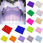 New Crystal Tulle Fabric Organza DIY Craft for Wedding Party Decor Supplies 5m