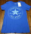 WOMENS CONVERSE CHUCK TAYLOR T- SHIRTS CLASSIC FIT VARIOUS COLORS AND SIZES
