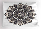 Ethnic Motifs Pillow Sham Decorative Pillowcase 3 Sizes Bedroom Decoration image