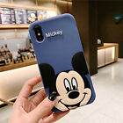 For iPhone 11 8 7 6 Plus XS Max Cute 3D Disney Cartoon Soft Silicone Case Covers
