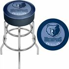 """Memphis Grizzlies Swivel Bar Stool 31"""" NBA Officially Licensed Backless + Padded on eBay"""