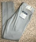 Men's Haggar Slim-Fit Flat-Front Premium No Iron Khaki Pants, Style HC10890, NWT