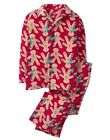 NWT Gymboree Christmas Fleece Pajama Set Boys Girls Gingerbread XXS, XS,S,M,L