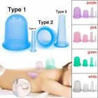 Silicone Massage Vacuum Body and Facial Cups Set Anti Cellulite Cupping Tool yY günstig