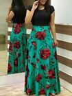 UK WOMEN FLORAL MAXI DRESS LONG EVENING PARTY DRESS SUMMER COCKTAIL DRESSES BOHO <br/> ❤UK SELLER❤IN STOCK❤FREE & FAST DELIVERY❤SIZE 16 14 18❤