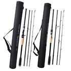 Lure Fishing Rod Carbon Spinning Casting Rod Power Travel Rod Fishing Rod Case
