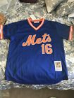 New York Mets Jersey Throwback Mesh Batting Practice Doc K Gooden Jersey Mens 16 on Ebay