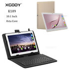 "XGODY 10.1""Android Tablet PC 2+32GB Octa Core WiFi 4G 2SIM Phone+Keyboard Bundle"
