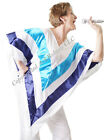 60s-70s-Tribute Act GLAM ROCK CHICK SWEDISH POP DANCING QUEEN PONCHO Free size