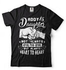 Dad Daughter Mens T-shirt Fathers day Gift Mens Shirt Dad of Daughter Tee Shirt image