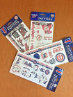 MLB Temporary Tattoos Sheet - Cubs, Mets, Red Sox, Tigers Made in U.S.A. on Ebay
