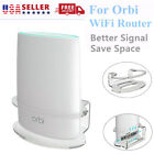 Best Clear Acrylic Wall Mount Bracket For Tri Band Orbi Home WiFi Router Sturdy