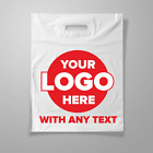 Company's bag with logo Custom Made Plastic Carrier Bags