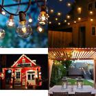 Outdoor Garden String Lights 25Ft G40 Oxyled Garden Patio Outside String Lights