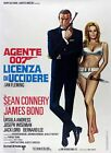 Dr. No Movie Art Silk Poster 12x18 24x36 $5.57 CAD on eBay