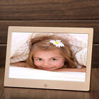 10 Inch Metal LED Digital Photo Frame Video Music Calendar Clock Player 1024x600