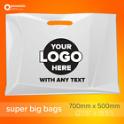 Personalised Custom Printed Plastic Carrier Bags with your own logo