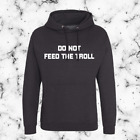 Do not feed the troll funny adults hoodie for internet addicts image
