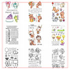 Dreamy Cartoon Sillicone Seal Rubber Transparent Stamp Scrapbooking Album Emboss