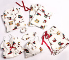 SNOOPY Sleepwear Two Pajamas Eye patch Pouch Hair tie 7Pieces Free Ship w/ Track