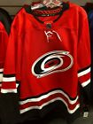 NHL Adidas Carolina Hurricanes Hockey Red Jersey Men's $180.00 USD on eBay