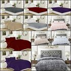 Warm Soft Teddy Fleece Bedding Quilt/Duver Cover Set Fitted Sheet 2 Pillow Cover image
