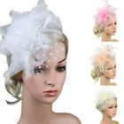 Fascinators Hat for Women Tea Party Headband Derby Wedding Cocktail Hair Clip US