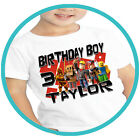 Roblox Birthday Shirts Custom Party T-shirts Personalized Girl Boy Family Tees