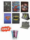 "Common Amazon kindle Fire 7"" 2017 Case Cover Kids Cartoon Batman PU Leather"