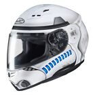 HJC CS-15 Storm Trooper Star Wars Disney Full Face Motorcycle Crash Helmet New
