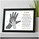 PERSONALISED Christmas Gifts for DADDY DAD GRANDAD from Son Daughter Child