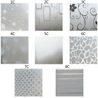 Waterproof Glass Frosted Bathroom Glass Window Privacy Film Sticker Home Decor