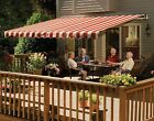 SunSetter Awning, Manual Retractable Awning, Deck & Patio Awning, Acrylic Fabric
