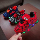 Kids Boys Girls Running Shoes LED Trainers School Luminous Sports Children Shoes