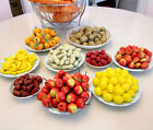 New 20Pcs/Bag Fake Fruit Food Plastic Mini Vegetable Puzzle Toy Home Decor Gift
