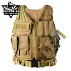 Mastiff Outdoor Tactical Vest Military MOLLE Airsoft Paintball Combat Armor GearVests - 178080