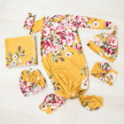 Kyпить US Newborn Baby Girl Floral Snuggle Swaddling Wrap Blanket Swaddle Towel 3PCS на еВаy.соm