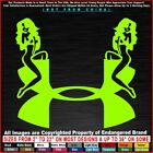 Under Armour Twins Armor fish boats Nike Yeti Sexy girls Sticker Decal