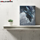 Viserion Ice Dragon Canvas Painting Wall Art Prints Daenerys Game Of Thrones New