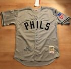"Philadelphia Phillies Chuck Klein Jersey Gray #3 Harper 1942 Throwback ""Phils"" on Ebay"