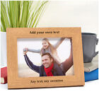 PERSONALISED Birthday Photo Frame Gifts for Dad Daddy Grandad - ANY MESSAGE
