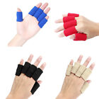 10PCS Elastic Finger Protector Sleeve Support Arthritis Sports Aid Wrap Protect $4.88 USD on eBay