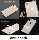 Transparent Skin Sticker Wrap Cover Case Clear Vinyl For iPhone Samsung Galaxy