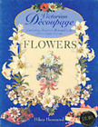 Victorian d�coupage flowers by Hilary Hammond: Used