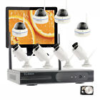 Business Home Security Camera System Wireless Kit W/ Hard Drive 15