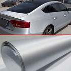 Brushed Aluminum Film Metallic Wrap Sticker Decal Car Exterior Internal Decor $9.22 USD on eBay